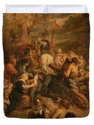 The Carrying Of The Cross, 1634 - 1637 Duvet Cover