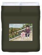 The Childrens Garden Duvet Cover
