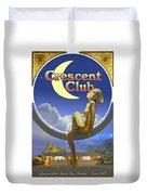 The Crescent Club, Siesta Key Duvet Cover