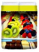 The Dessert Trays Duvet Cover