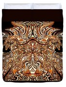 The Divine Chariot Duvet Cover