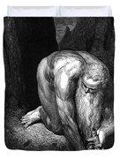 The Divine Comedy, By Dante The Giant Antaeus Duvet Cover