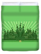 The Emerald City Duvet Cover
