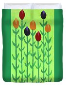 The First Sign Of Spring Duvet Cover by Deborah Boyd