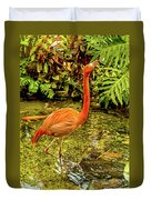 The Flamingo Duvet Cover