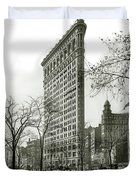 The Flatiron Building 1903 Duvet Cover