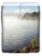 The Fog Rolls  Duvet Cover