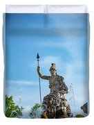 The Fountain Of Rometta Duvet Cover