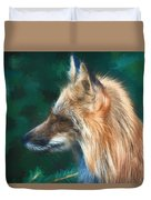 The Fox 235 - Painting Duvet Cover