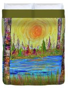 The Golden Hour Duvet Cover