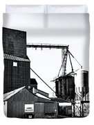 The Grain Elevator Duvet Cover