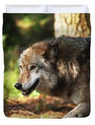 The Gray Wolf Duvet Cover