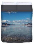 The Great Salt Lake Duvet Cover