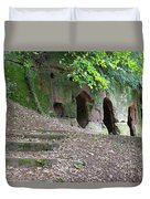 The Hermit's Cave Duvet Cover