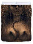 The Idol Of Perversity, 1891 Duvet Cover