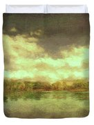 The Lake - Panorama Duvet Cover