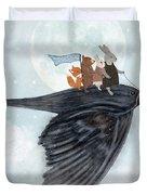 The Light Bird Duvet Cover