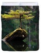 The Little Tree On Fairy Lake 5 Duvet Cover