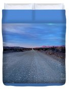 The Long Dirt Road Duvet Cover