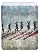 The Long Walk, World War Two Duvet Cover