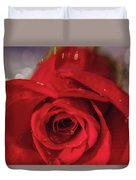 The Magic Of Roses Duvet Cover