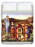 The Mirror Of Venus 1875 Duvet Cover
