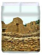 The Mission At Jemez Springs Duvet Cover