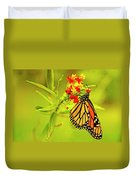 The Monarch Butterfly Duvet Cover