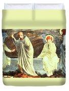 The Morning Of The Resurrection 1882 Duvet Cover