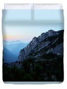 The Mountain Hut Duvet Cover