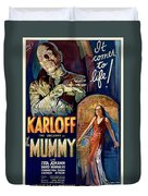The Mummy 1932 Film Duvet Cover