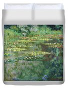 The Nympheas Basin - Digital Remastered Edition Duvet Cover