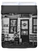 The Old Country Store Black And White Duvet Cover