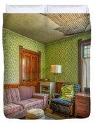 The Old Farmhouse Living Room Duvet Cover