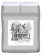 The Old Governors Mansion,  Helena, Montana Duvet Cover