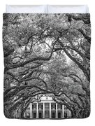 The Old South Version 3 Bw Duvet Cover