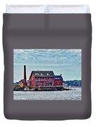 The Paint Factory, Gloucester, Massachusetts Duvet Cover