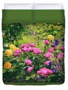 The Painted Garden Duvet Cover