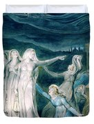 The Parable Of The Wise And Foolish Virgins - Digital Remastered Edition Duvet Cover