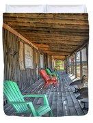 The Porch Duvet Cover