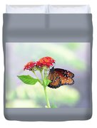 The Queen Of Butterflies  Duvet Cover