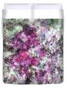 The Quiet Purple Clouds Duvet Cover