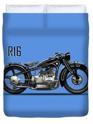 The R16 Motorcycle Duvet Cover