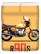 The R90s Motorcycle Duvet Cover