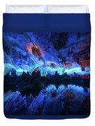 The Reed Flute Cave, In Guangxi Province, China Duvet Cover