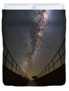 The Residencia At Night Duvet Cover