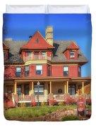 The Rittenhouse Inn Duvet Cover