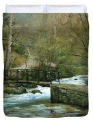 The River Psirzha Duvet Cover