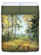 The Road Into The Forest Duvet Cover