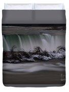 The Silky Horseshoe Falls Duvet Cover
